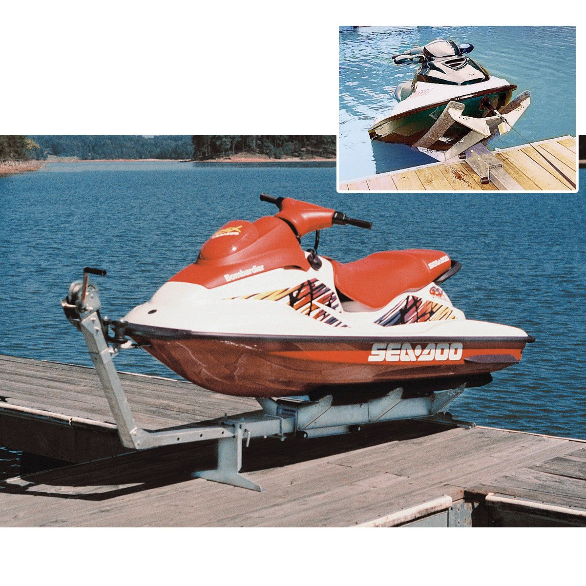 Jet Rail XL Watercraft Lift - 980-lb  capacity $659 99