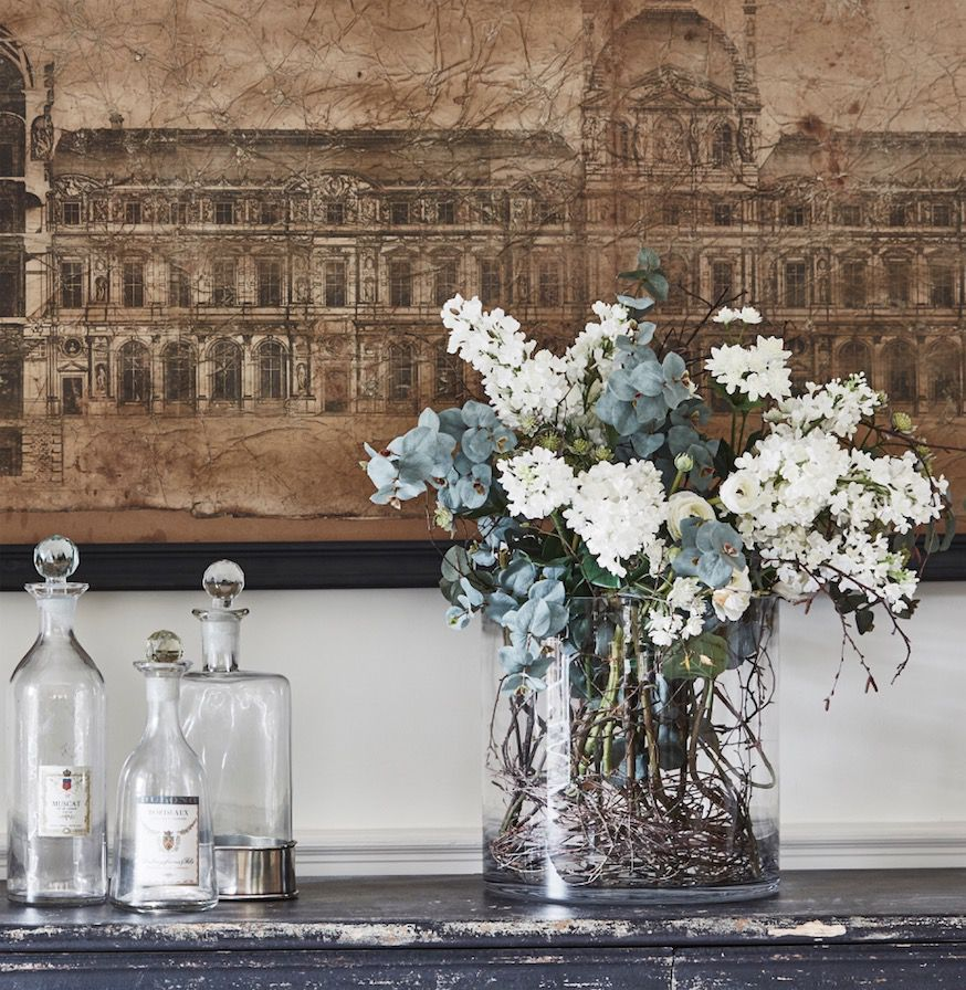 How to style artificial flowers and plants