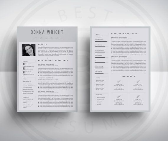 resume template    cv template cover letter for ms par