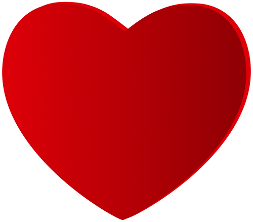 Large Red Heart Png Clipart Valentines Day Pinterest Clip Art