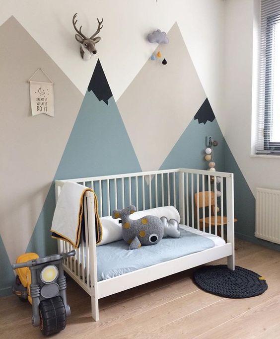 Tendencia decoraci n beb s 2017 monta as habitaciones for Decoracion habitacion bebe nina 2017