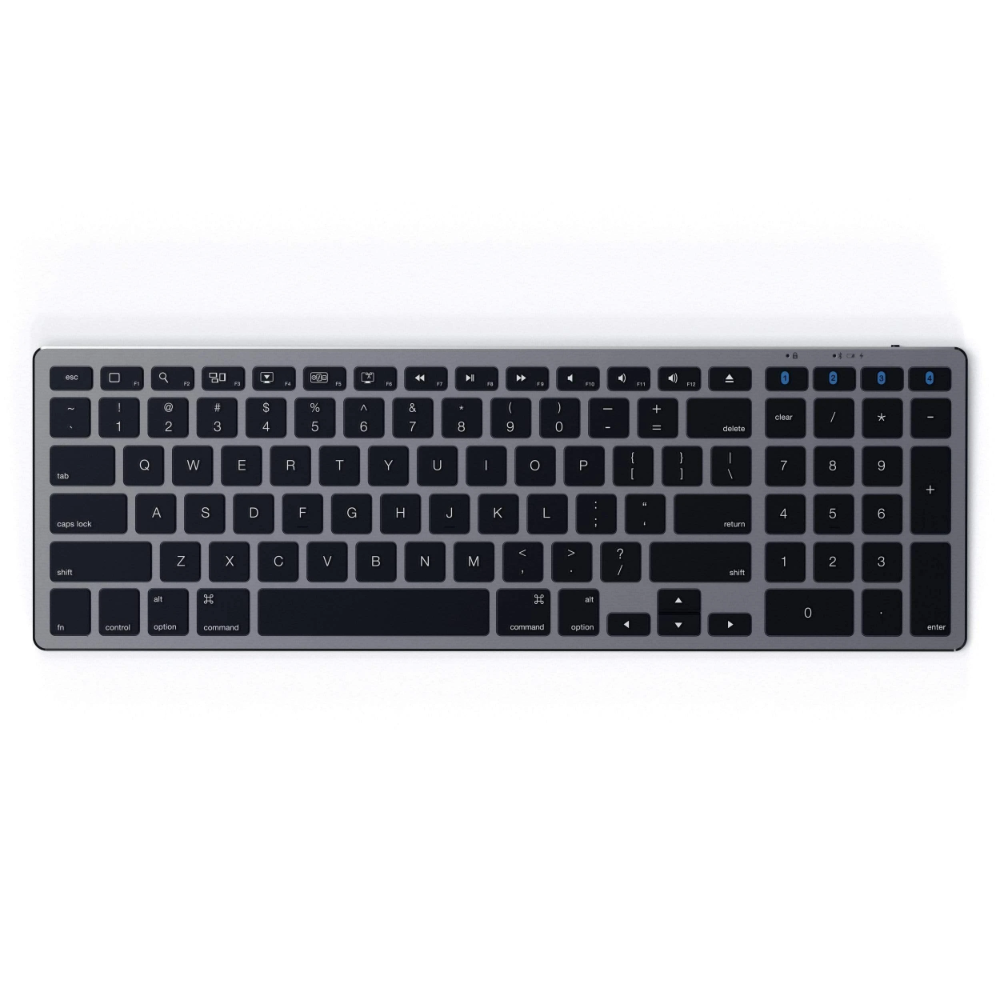 Aluminum Slim Wireless Keyboard Computer Keyboard Numeric Keypads Mac Mini