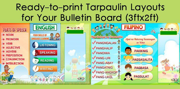 High Quality Tarpaulin Layouts For Bulletin Board 3ft X 2ft