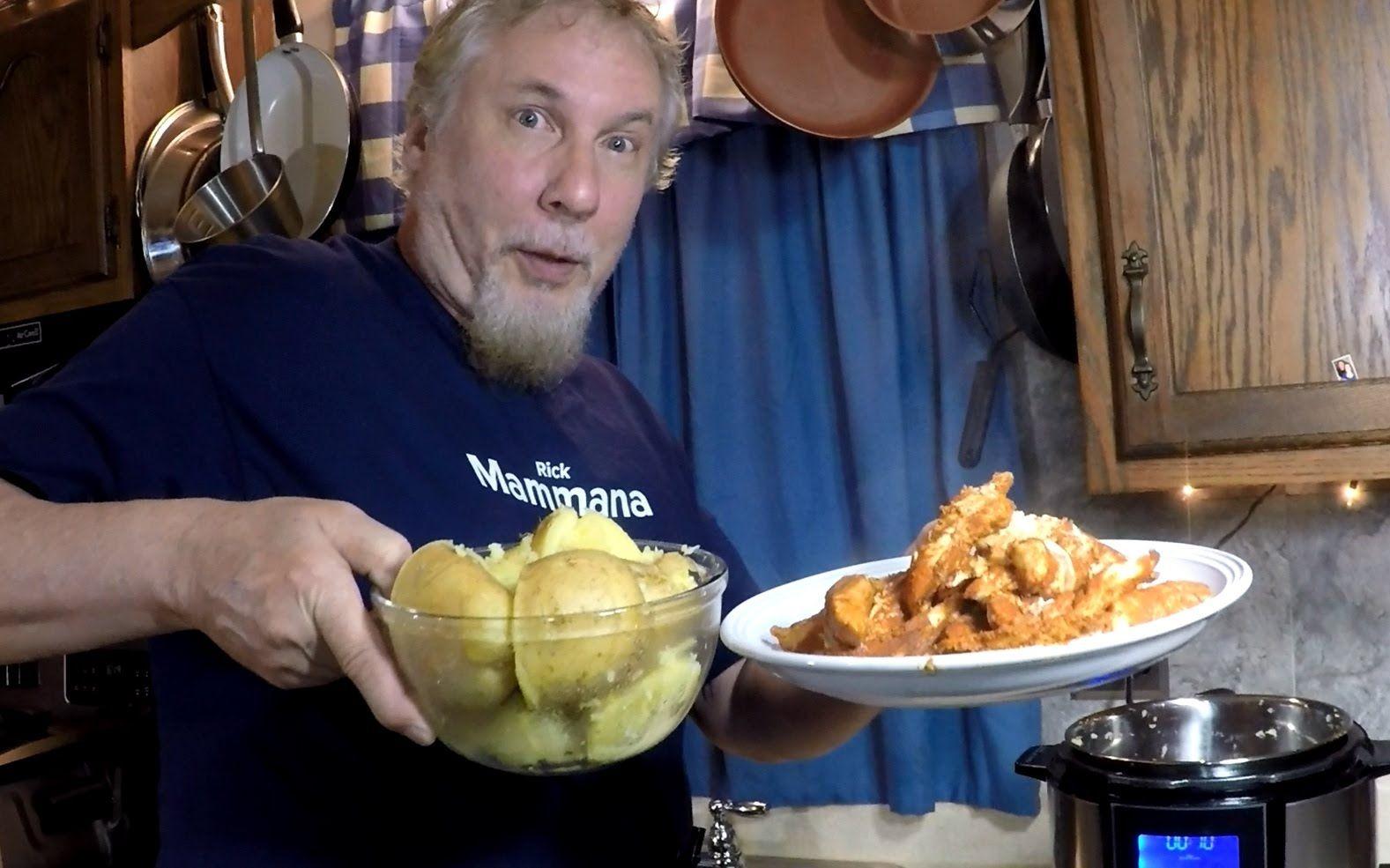 Pressure Cooker Chicken Paprika + Potatoes Pressure