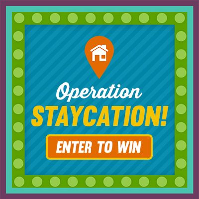 Spin to plan your staycation and you'll be entered to win a $500 ...