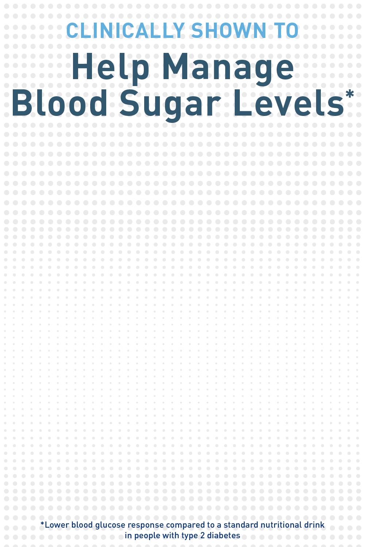 BOOST Glucose Control® Drink helps manage blood sugar levels.