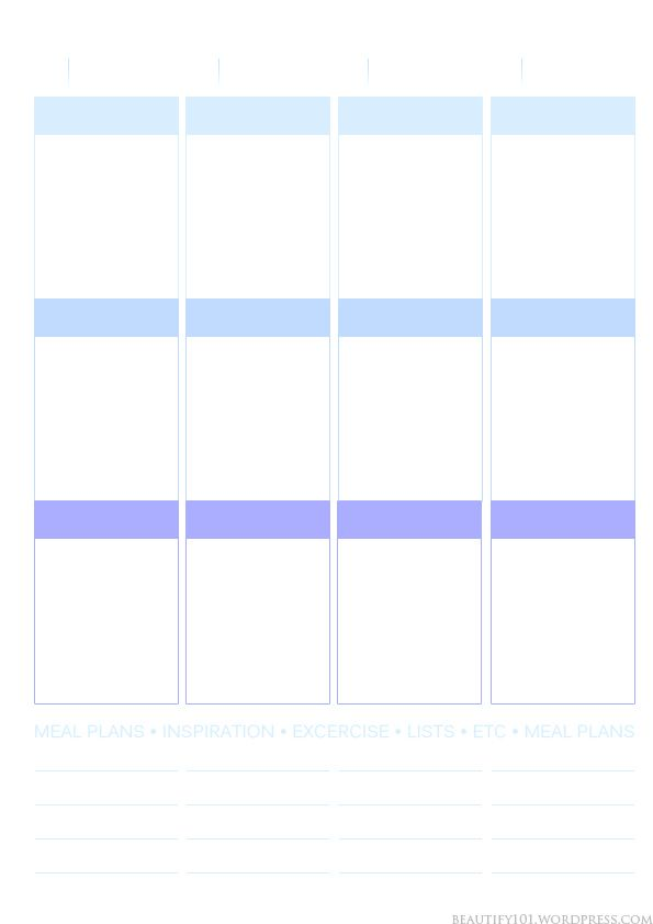 photo regarding Printable Layout identified as Planner101: Absolutely free printable webpage style and design (Erin Condren