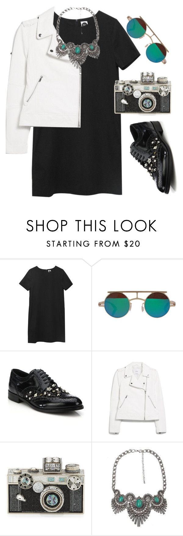 """""""Untitled #1453"""" by lauraafreedom ❤ liked on Polyvore featuring Dolce&Gabbana, MANGO, Judith Leiber, BKE, women's clothing, women, female, woman, misses and juniors"""