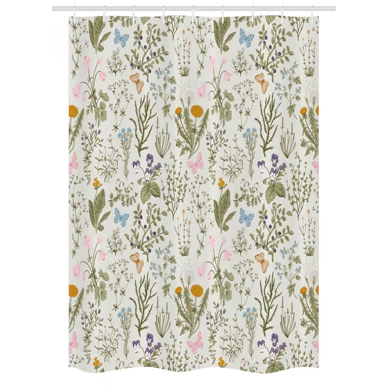 Stall Shower Curtain Single Hooks In 2020 Kitchen Tablecloths