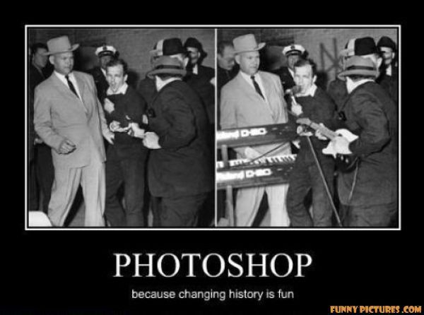 Photoshop: Because Changing History Is Fun | History | Pinterest ...