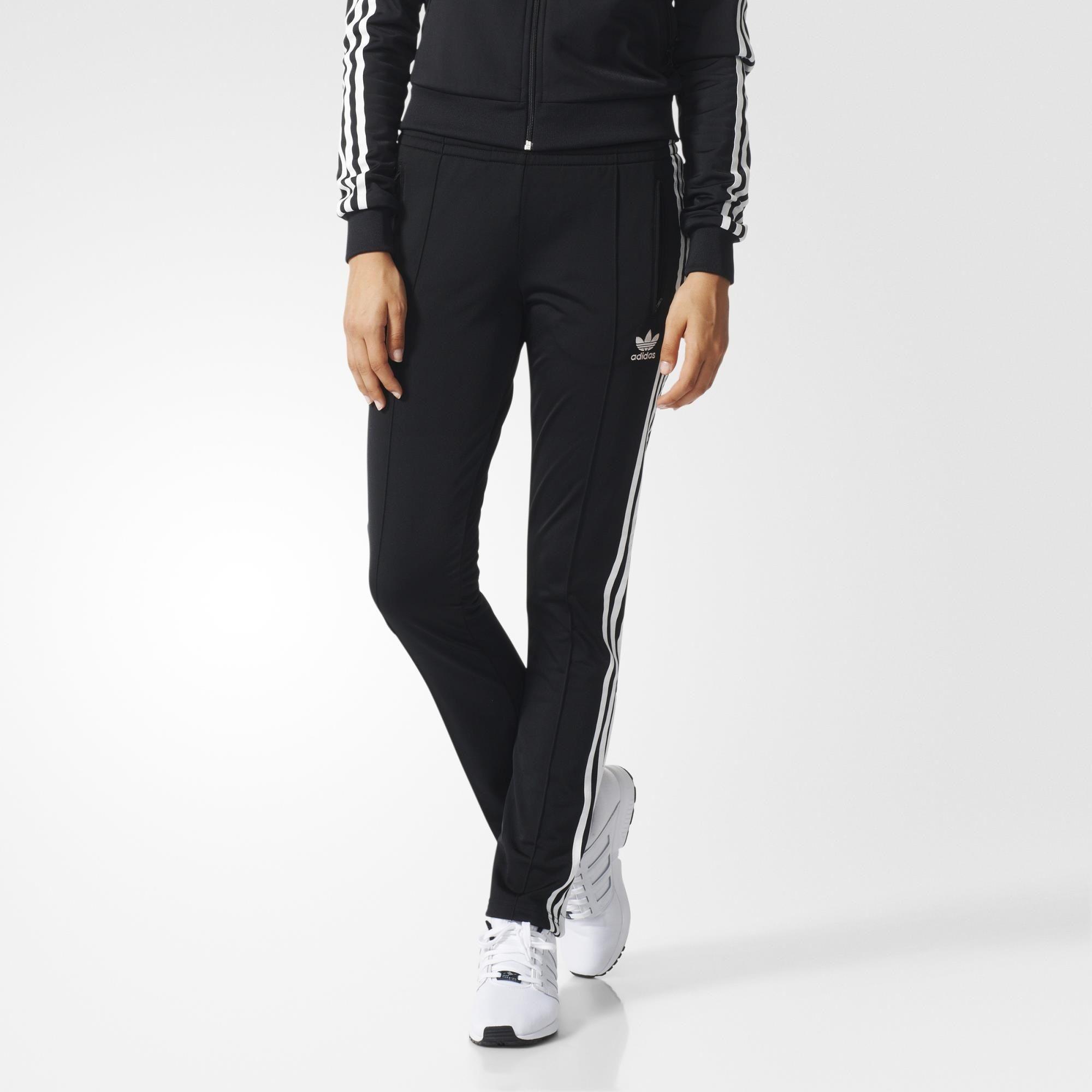 d61b3bd34194 adidas Firebird Track Pants - Black