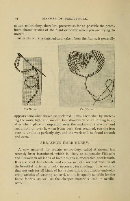 Manual of needlework. Teaching how to do Kensin...