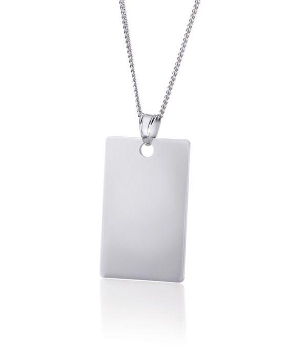 Silver Dog Tag R399  *Prices Valid Until 25 Dec 2013