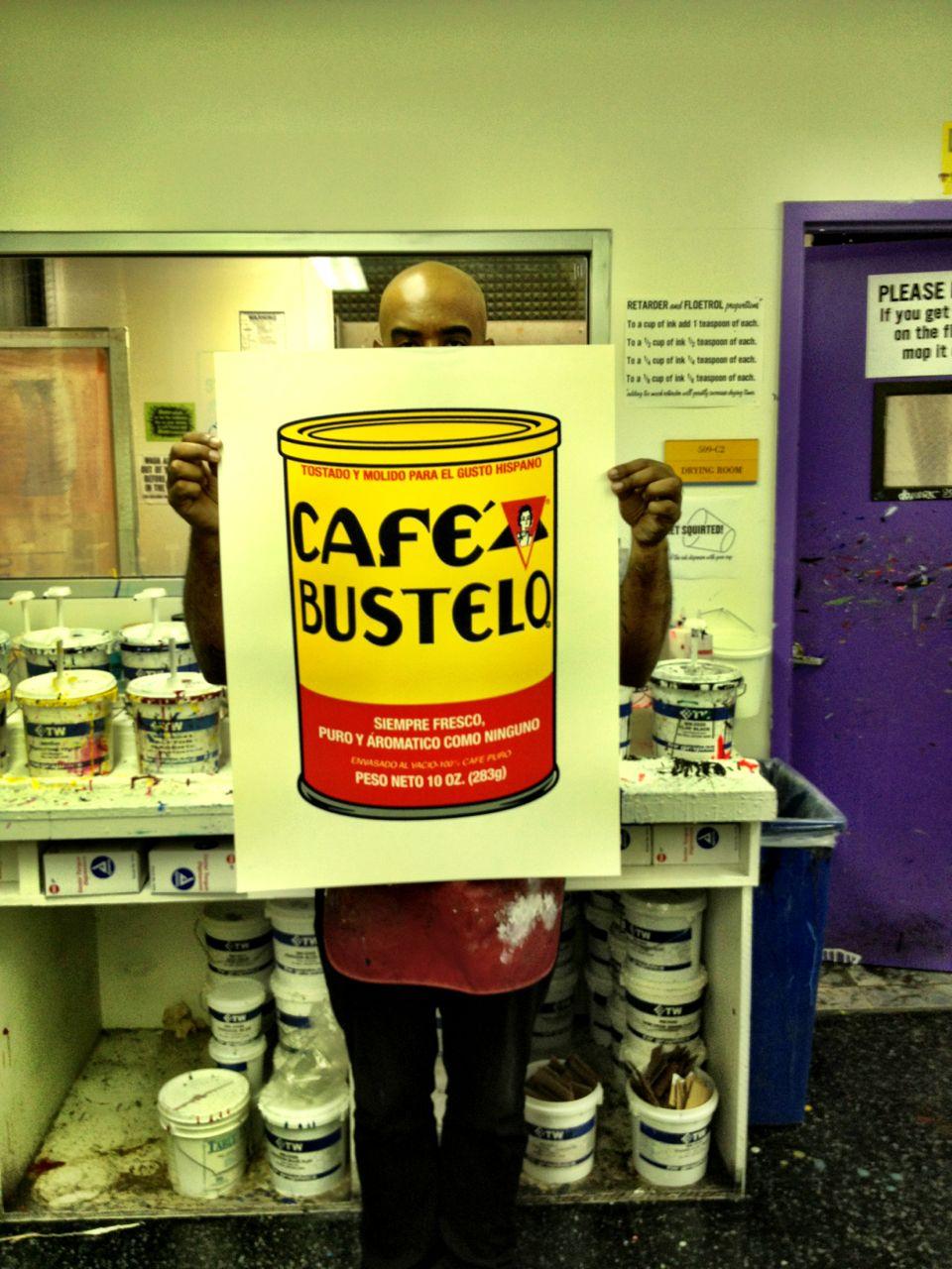 how to make cafe bustelo brick