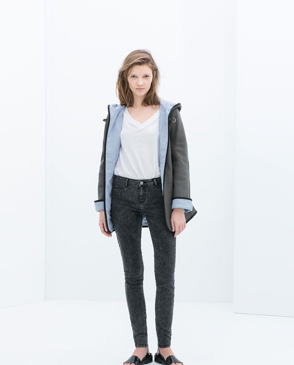 Zara trf jeans jacke