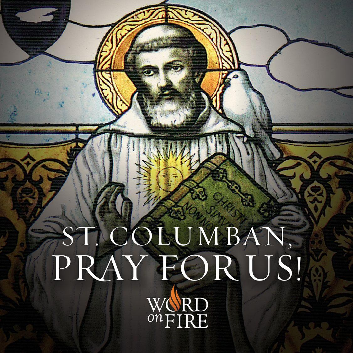 St. Columban, pray for us   Catholic pictures, Pray for us ...