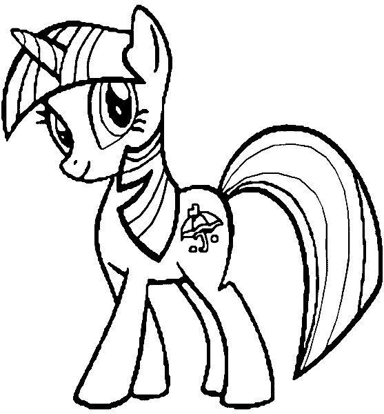 My Little Pony Páginas Para Colorear 01 Colorear Páginas Para