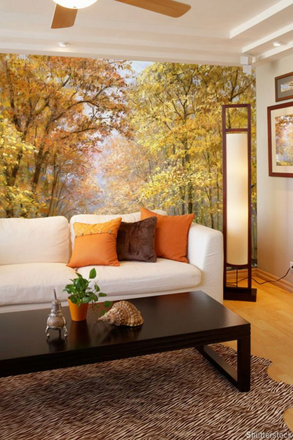 Murals For Living Room #33: Wall-murals-13 ~ Living In A Shoebox ...
