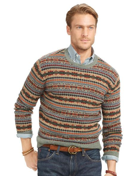 Fair Isle Merino Wool Sweater - Polo Ralph Lauren Polo Ralph ...
