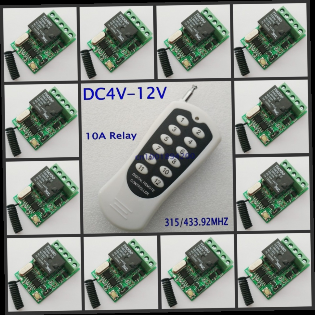 4895 Buy Now Http Aliv27worldwellspw Gophpt32562954813 Relay With No And Nc Contacts Momentary Toggle Button Remote Control Switch 4v 5v 6v 74v 9v 12v 12ch 10a Mini Wireless Com Contact On Off