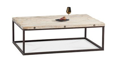 Sarreid Ltd Van Thiel Florist Table Modern Mountain Feel