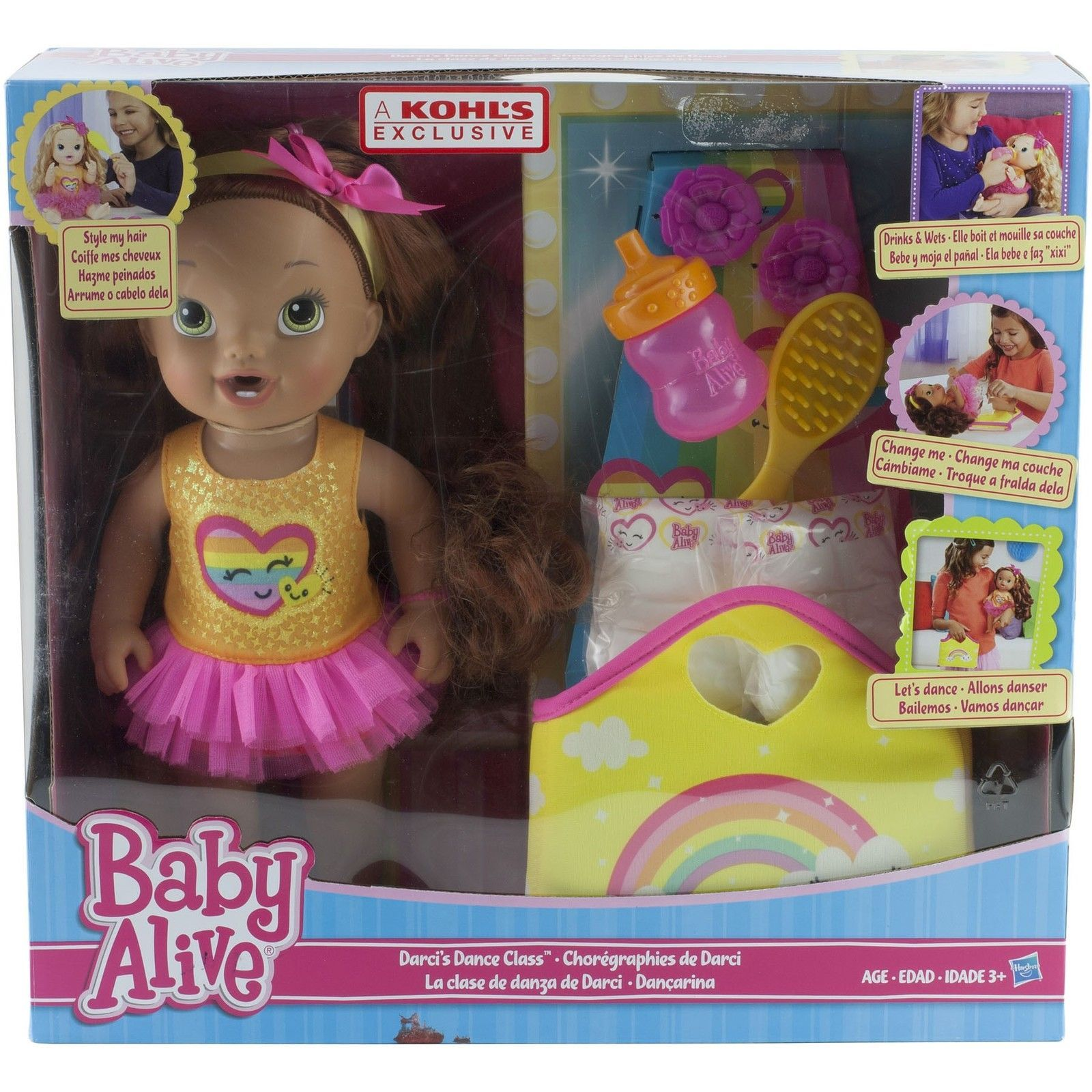 Baby Alive Darci's Dance Class Brown Hair Doll https://t.co/CCeEtBHzcm https://t.co/GGBUFgVYtv
