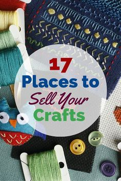 17 places to sell your crafts fyi by goldie rickman pinterest