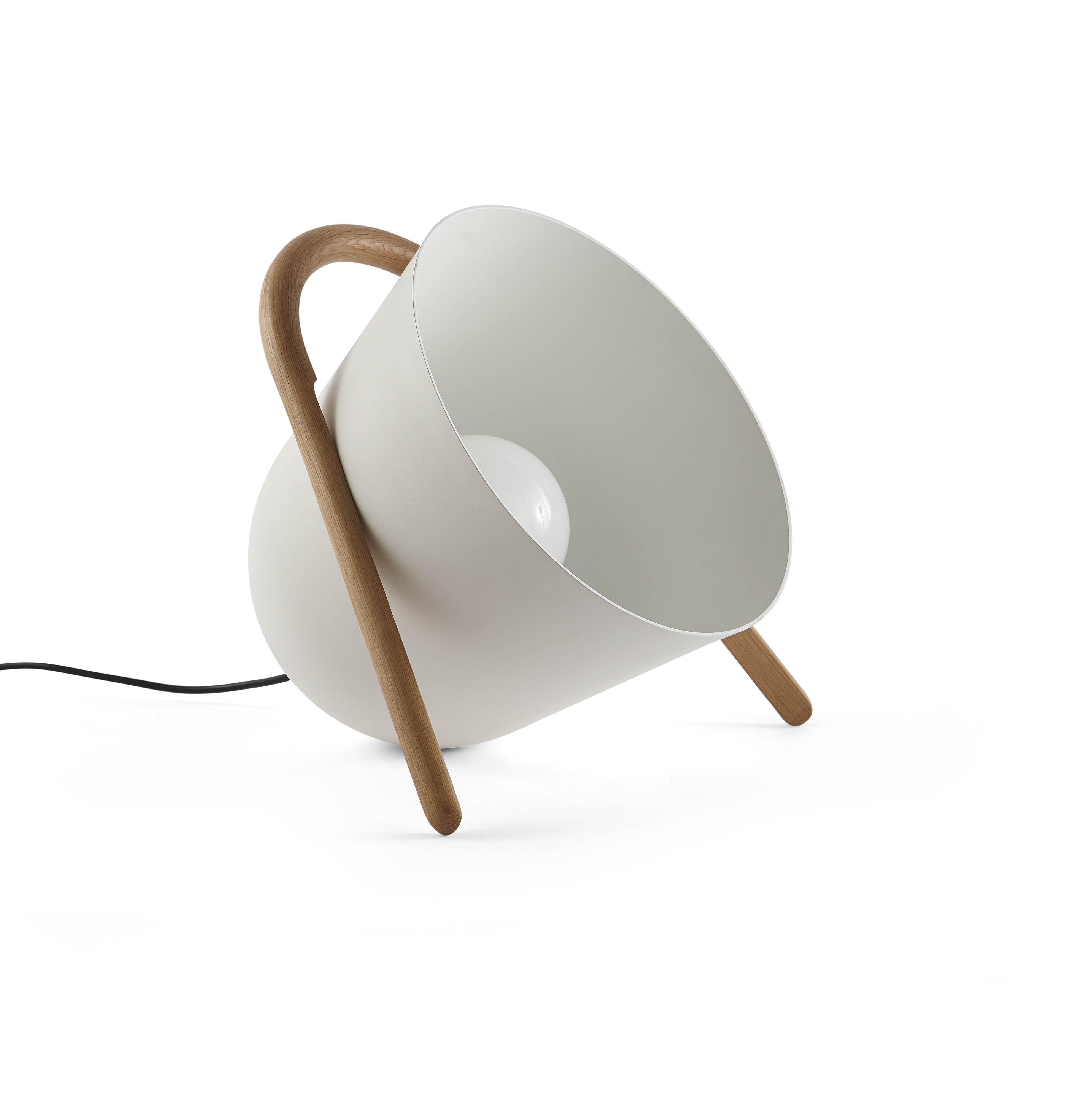 Supérieur Luminaire A Poser Au Sol #12: Lampe De Sol ELMA - Blanc - Incipit Lab