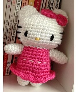 Ravelry: Hello Kitty in Pink Dress pattern by DDs Crochet