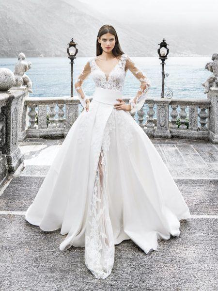 Bianca Balti Dazzles in Alessandro Angelozzi Couture 2020 Bridal Dresses