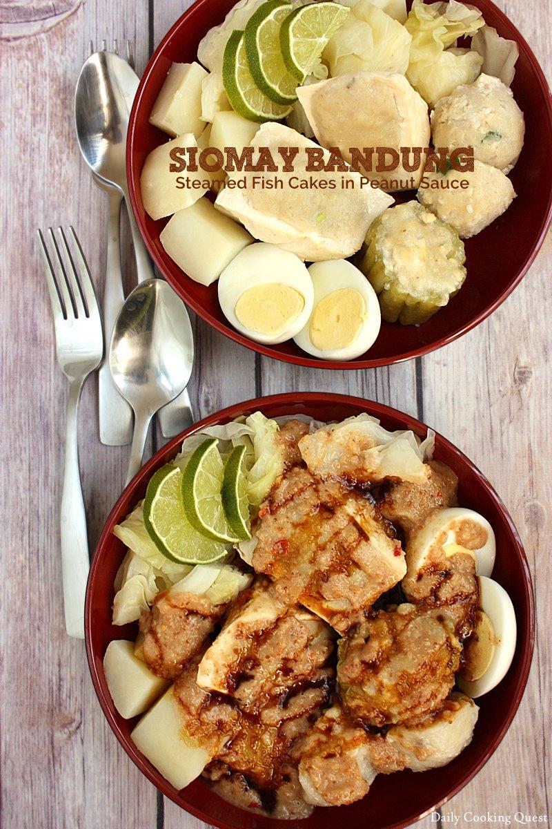 Siomay Bandung Recipe in 2020 Asian cooking, Food
