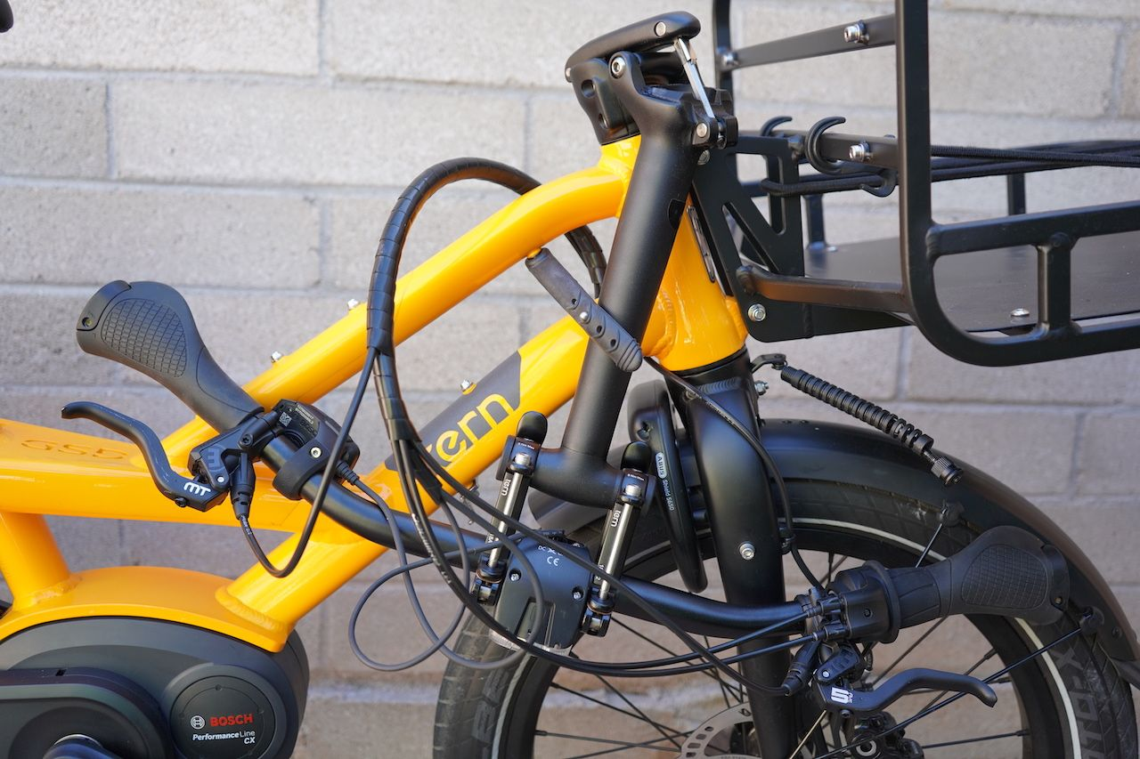 Tern Gsd S00 Electric Cargo Bike Review Part 1 Pictures Specs