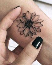 Photo of 37 Lovely Flower Tattoo Geeignet für Frauen Tattoos #flowertattoos – Blumen Tattoos Designs