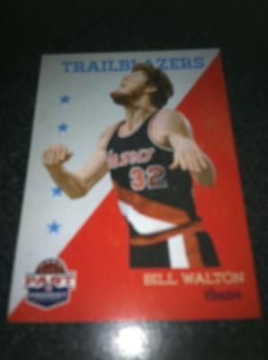 Bill Walton Brand New * 2011-12 Past & Present * NBA Basketball Card Portland Trailblazers Free Ship $2.00