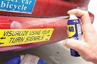 How to Remove Decals From Any Metal, Plastic, or Painted Surface