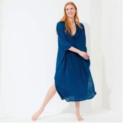 Photo of Damen Ready to Wear – Solid Strandkleid aus Leinen für Damen – Kleid – Farlini – Blau – Xx/xs – Vile
