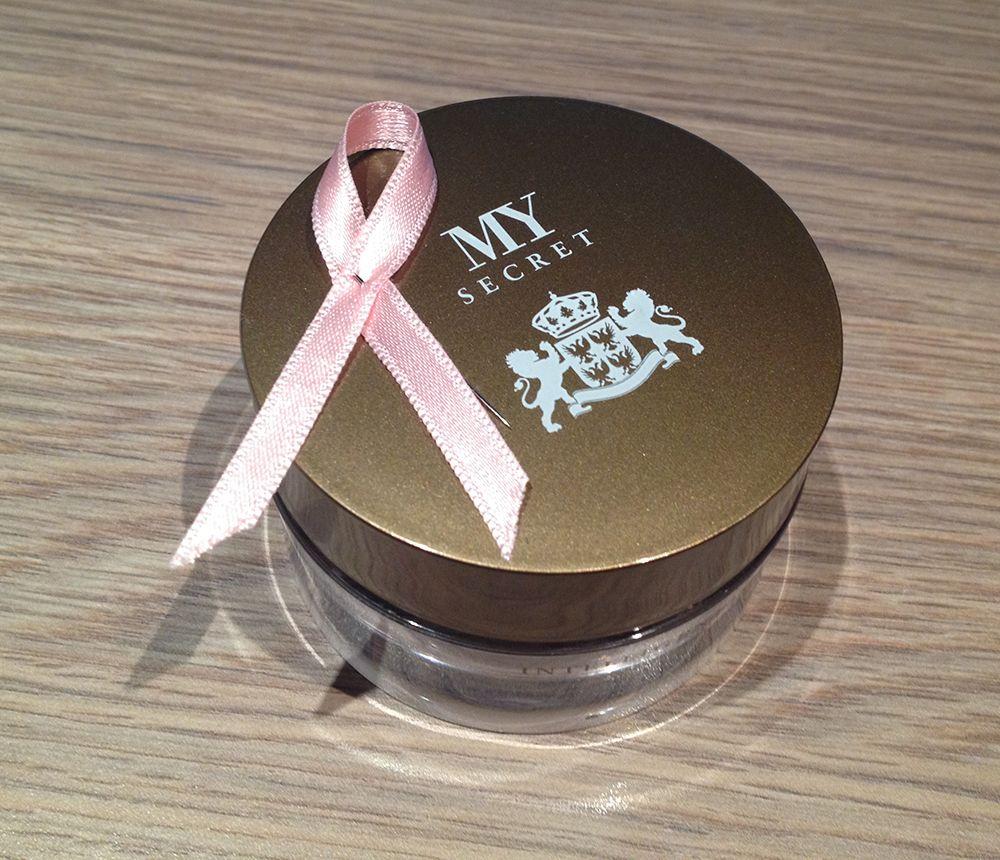 My Secret y el cáncer de mama
