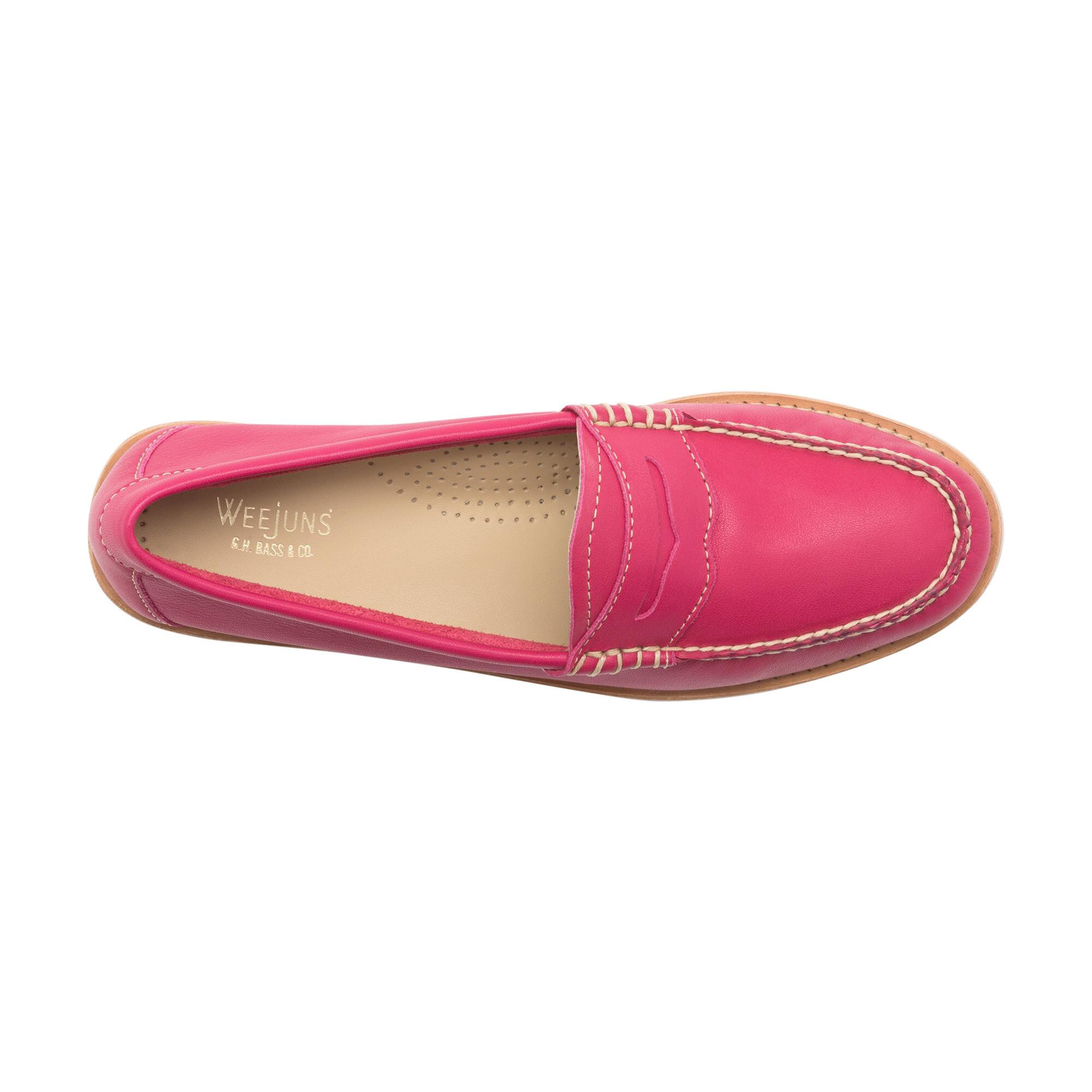 e71860baeea G.h. Bass   Co. Whitney Natural Sole Weejuns - Berry Pink 6.5