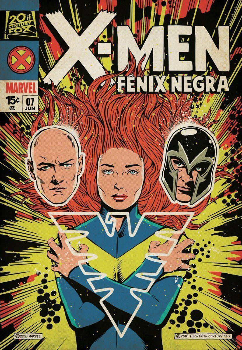 New X Men Dark Phoenix Poster Released Dark Phoenix Xmen Comics Marvel
