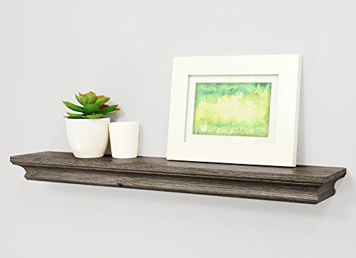 Kiera Grace Boston Wall Shelf Driftwood Grey 24inch Details Can Be Found By Clicking On The Image Note It S An Affil Wall Shelves Shelves Floating Shelves