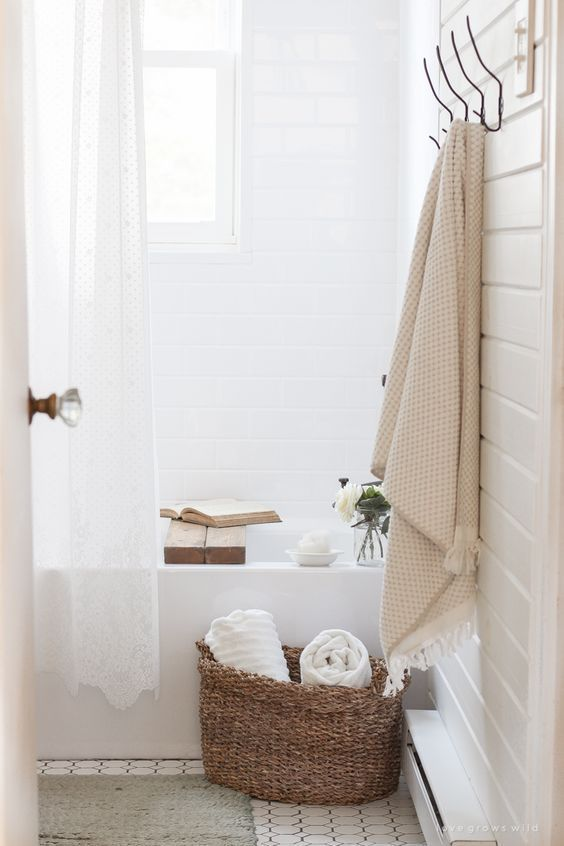 Bathroom for Modern Farmhouse | Kathy Kuo Home