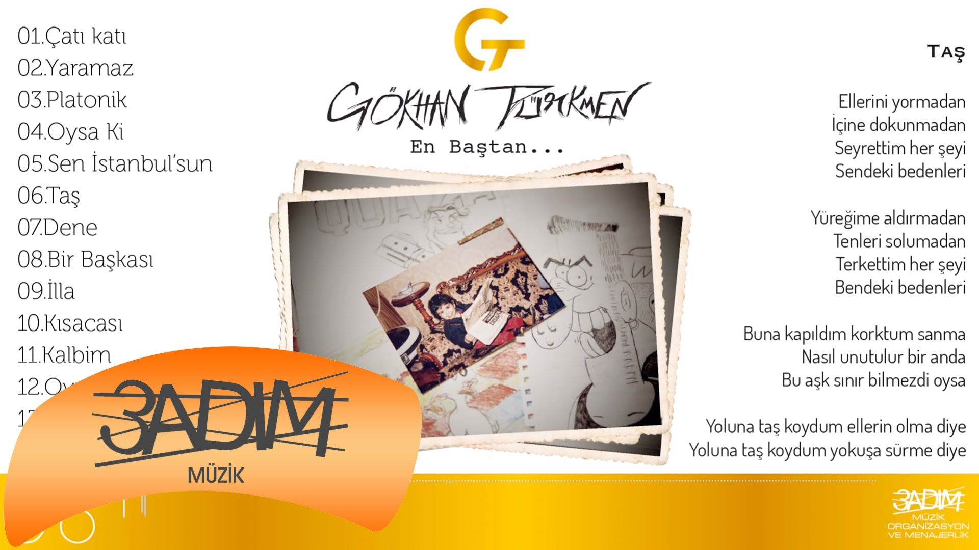 Gokhan Turkmen Tas Official Lyric Video Oya Muzik