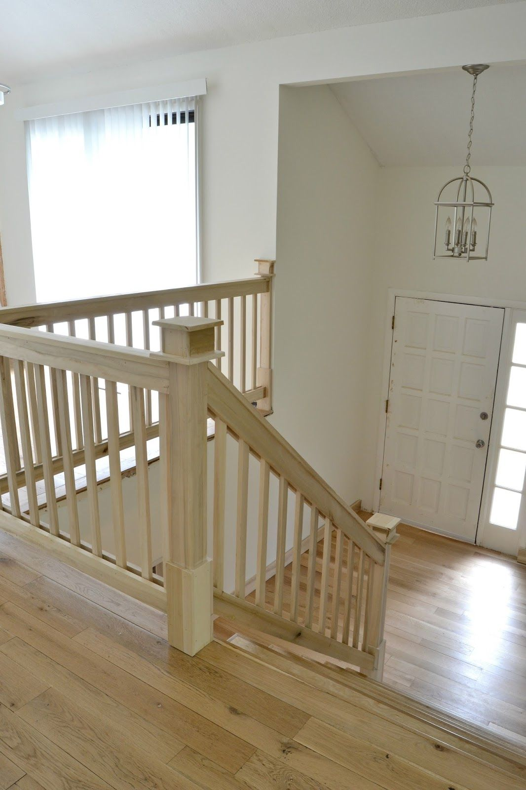Best Our 1970 S House Makeover Part 7 The Painted Door Stair 400 x 300