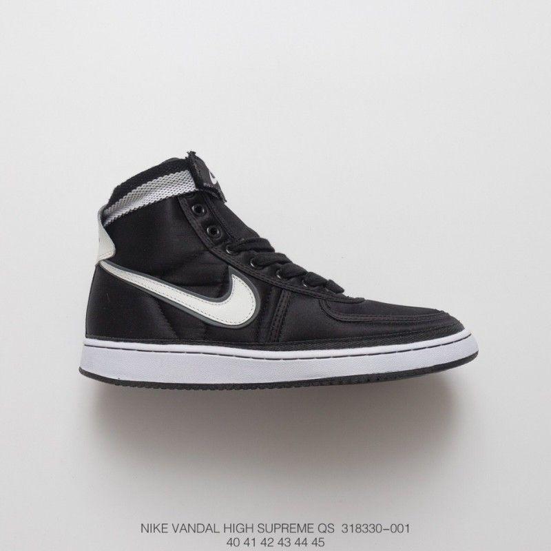 Cheap Nike Shoes | White nike high tops, Black, white nikes
