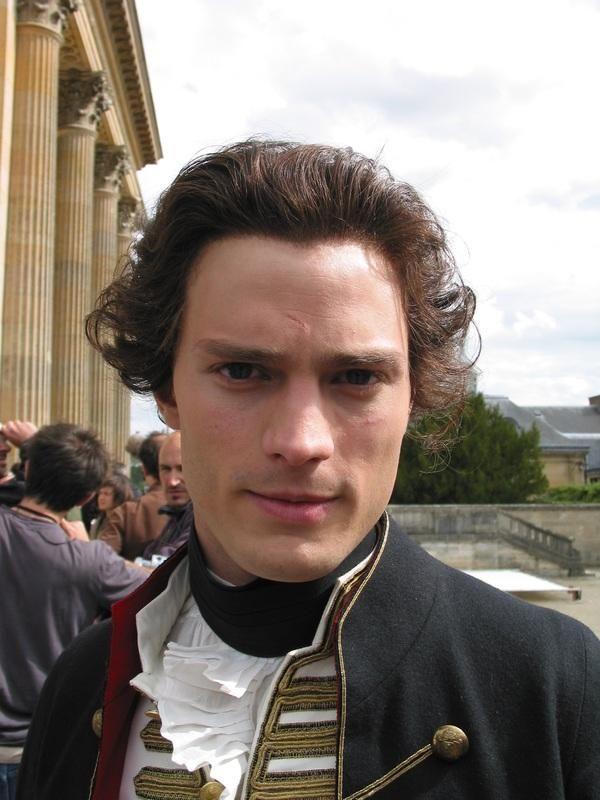 """Jamie Dornan Make-up and Hair test for """"Marie Antoinette"""" (2006)"""