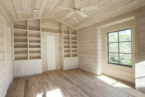 Design Trend Wood Walls And Ceilings Home Shed Interior White
