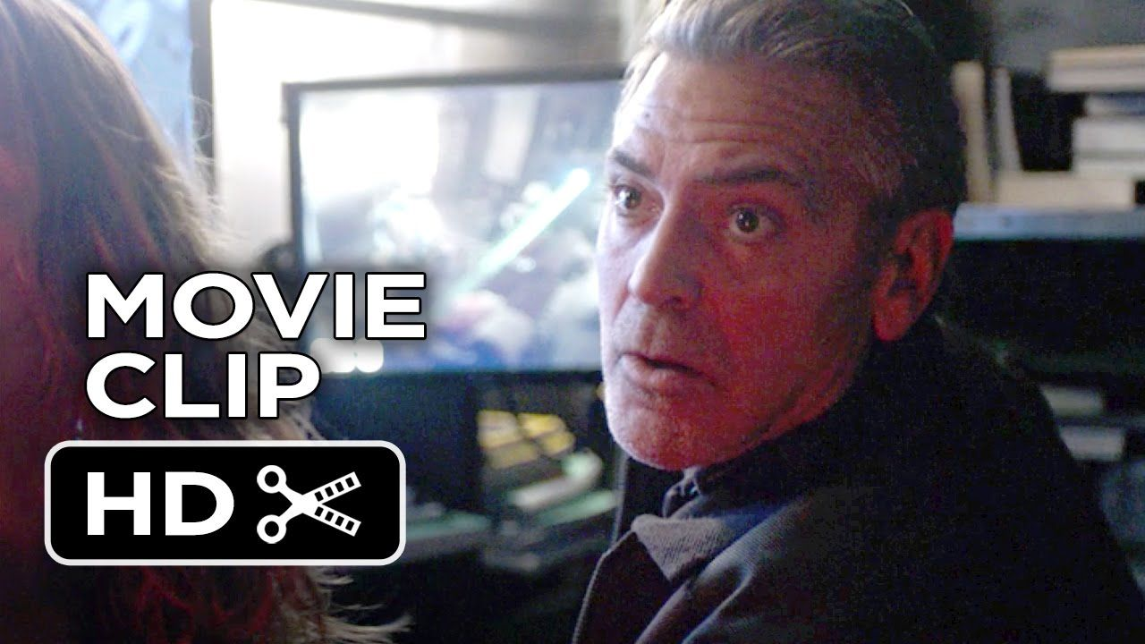 Tomorrowland Movie CLIP - House Attack (2015) - George Clooney, Britt Ro...