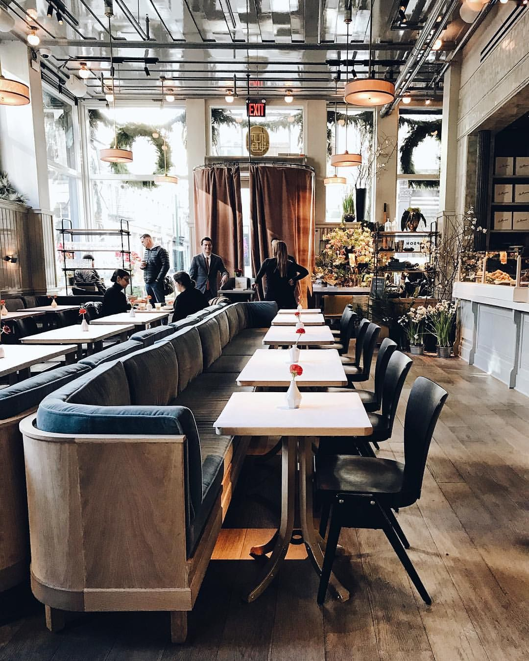 Roman and williams guild new york city wander in 2018 pinterest restaurant design for Interior designers in new york city