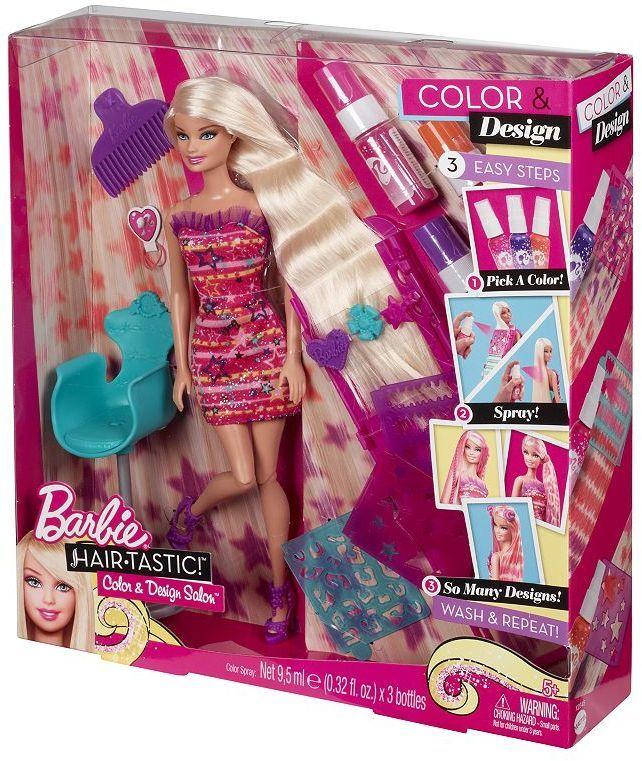 Barbie Hair Salon Set