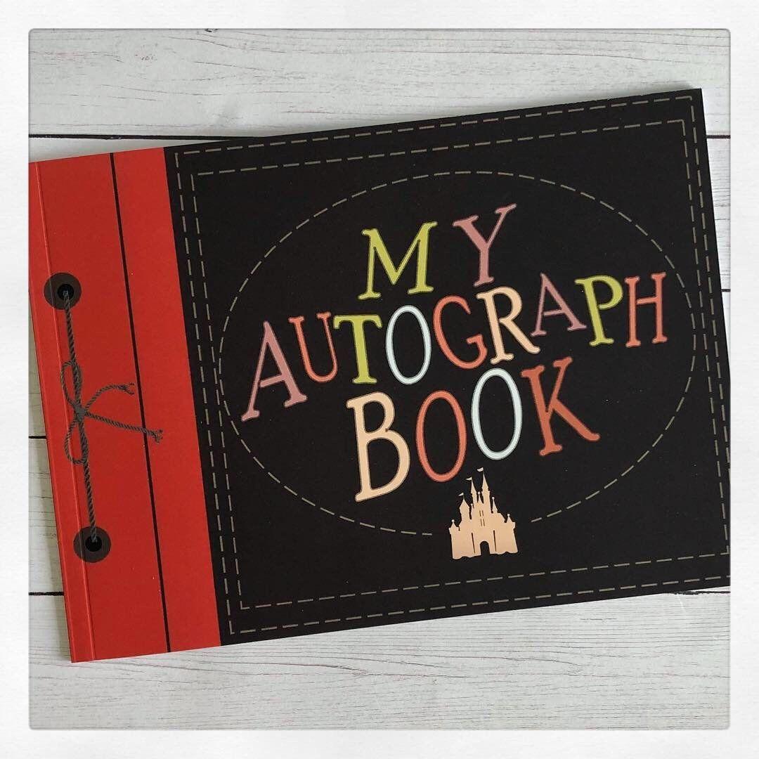 Diy Up Adventure Autograph Book For Disney Mickey Castle
